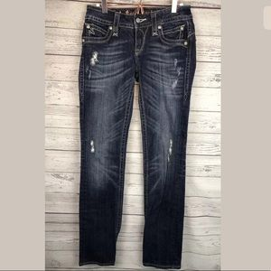 Rock revival jeans Chrissie straight distressed 28